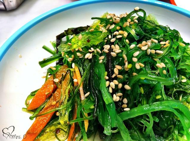 Kaiso (Seaweed) Salad