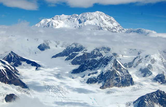 Mount McKinley view from south