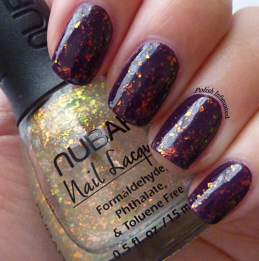 dark plum and flakies1