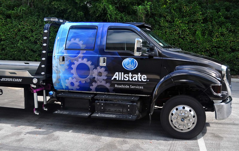 Truck wrap by TechnoSigns in Orlando