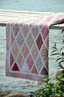 Diamonds Are a Girl's Best Friend quilt