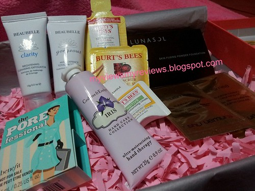 fabulous finds - products in box