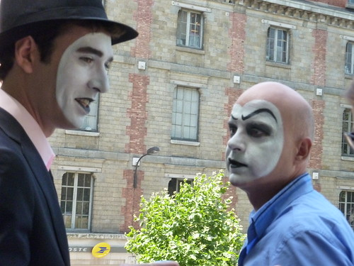 Mimes in Paris