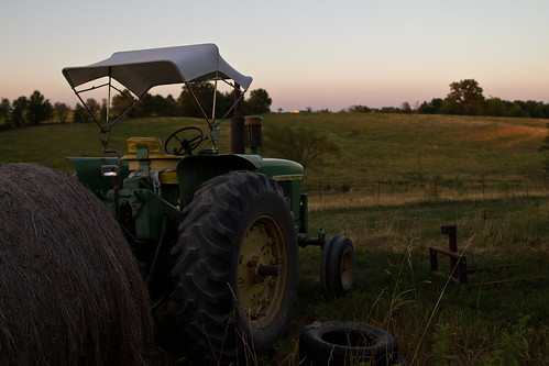 sunset tractor nature water field canon john prime cow farm machinery ii 7d hay deere 24l taylorbennett