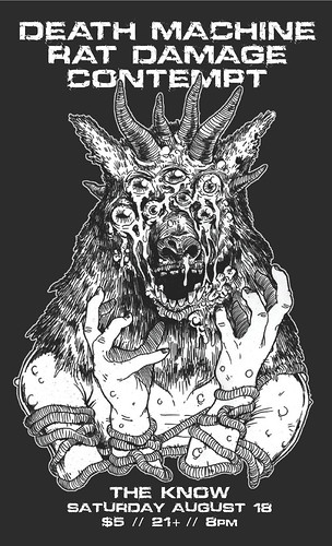 8/18/12 DeathMachine/RatDamage/Contempt