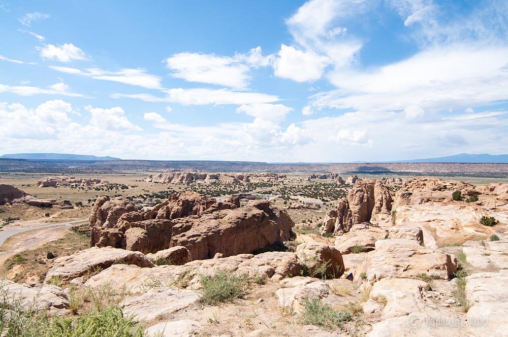 View from Acoma Pueblo mesa