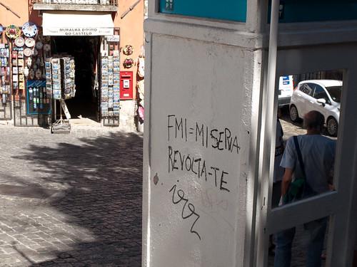 Pintada en Lisboa by treboada