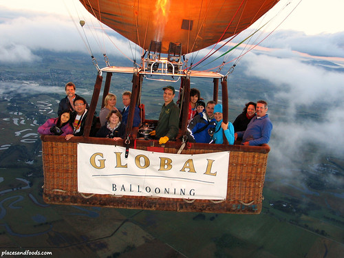 Hot Air Balloon Ride in Yarra Valley6