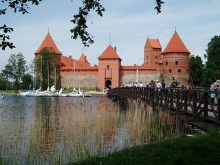 Trakai castle, Vilnius, Lithuania