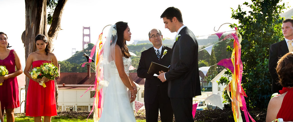 Wedding couple, Cavallo Point