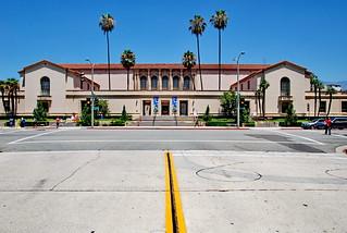 Pasadena Public Library, Myron Hunt & H.C. Chambers 1927