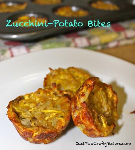 Zucchini Potato Bites