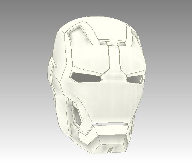 Files Man Iron Man Pepakura Files