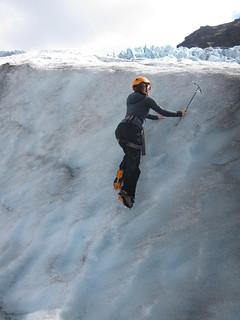Wspinaczka po lodzie
