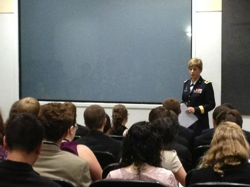NSLC NSEC - Guest Speaker Brigadier General Marianne Watson, Director of Manpower and Personnel, National Guard Bureau