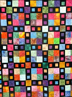 Colorful Quilt at Coburg, Oregon Quilt Festival