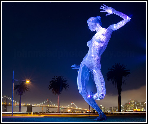 Bliss Dance Statue - Treasure Island