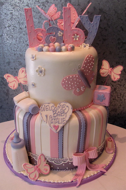 Baby Shower Cake Pictures For A Girl : Baby Shower Butterflies Flickr - Photo Sharing!