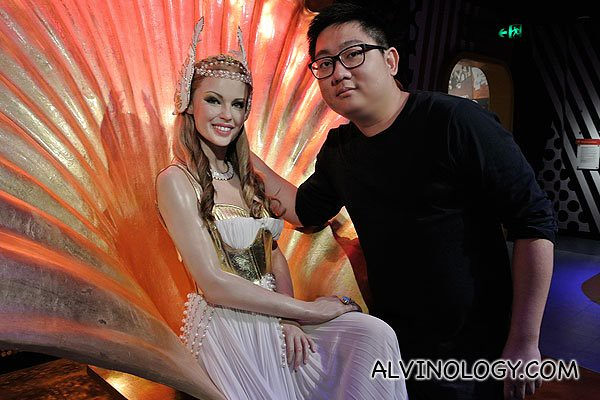Australia pop princess, Kylie Minogue and me