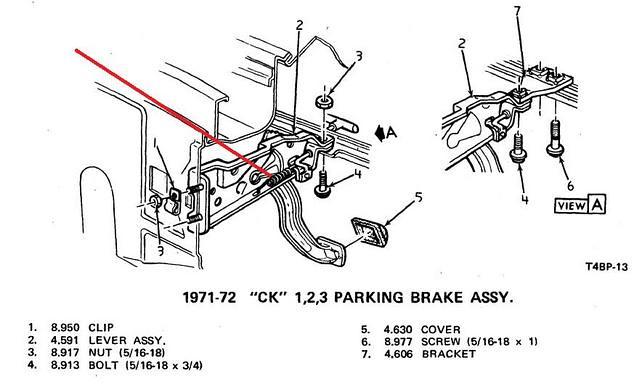 Tx Need A Parking Brake Release Return Spring