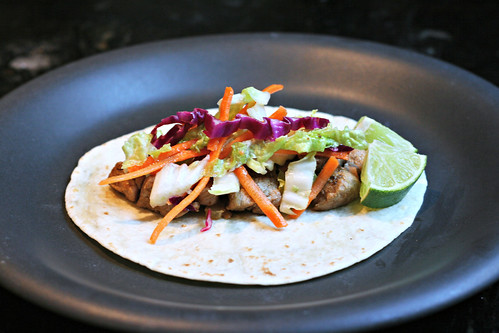 So Tasty So Yummy: Pork Tenderloin Tacos with Tangy Slaw