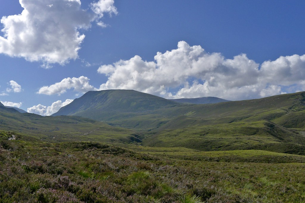 Sron na Lairig and Braeriach