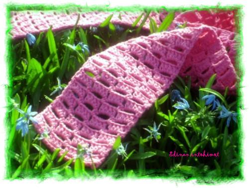 Pinkki pylväshuivi_3