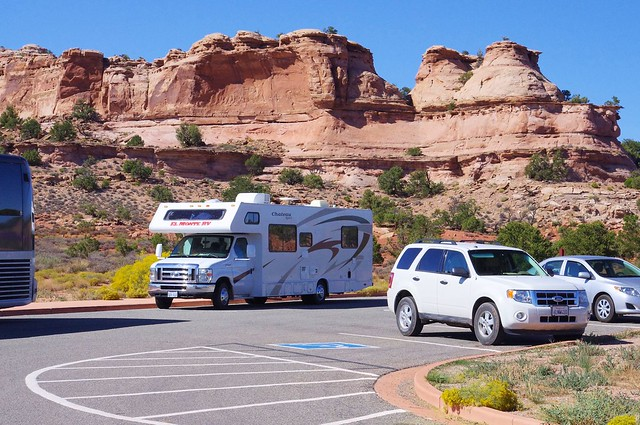 El Monte RV Rental, Chateau Sport, Class C RV, Canyondlands National Park, Utah, September 25, 2011