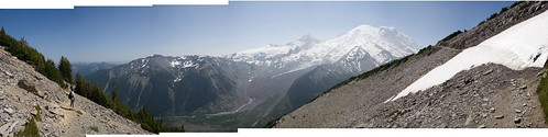 Emmons Glacier panorama