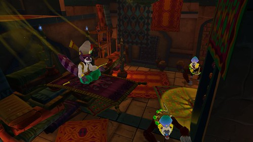 Sly Cooper: Thieves in Time - Carpet