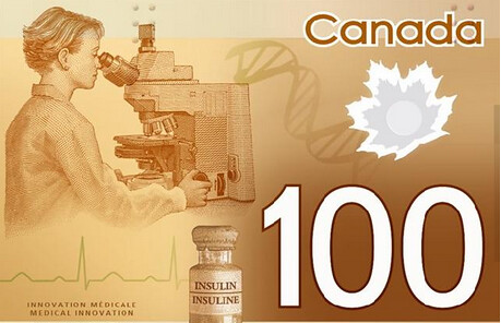 Canada non-asian woman banknote