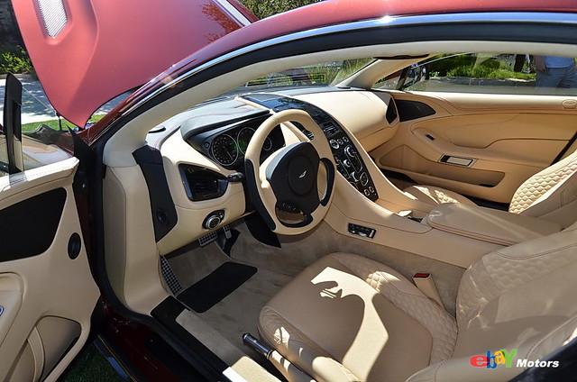 2014 Aston Martin interior