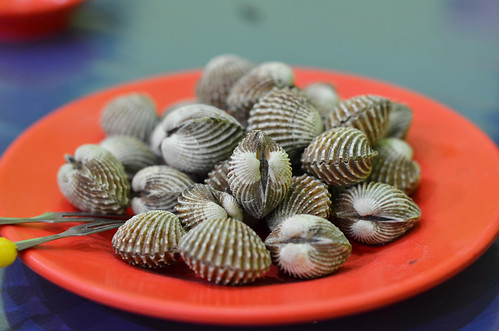 clam steamed jambi sarinande nikkor50mm14f bloodcockle nikond7000 yemaria kerangdarah