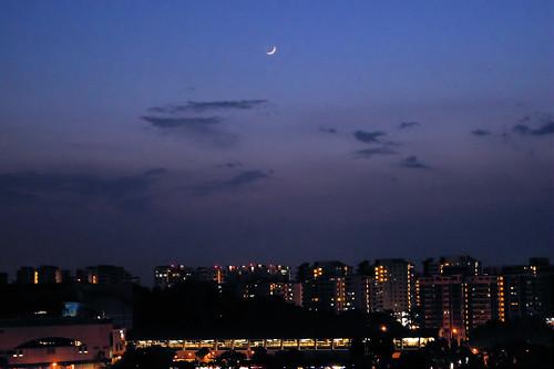 Syawal Moon of Hari Raya Aidilfitri