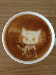 Today's latte, Jean-Luc Picat.