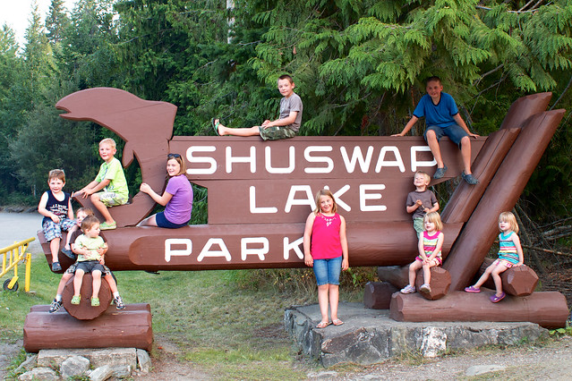 Shuswap sign cousins