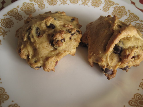 Pumpkin Pecan Chocolate Chip Cookie