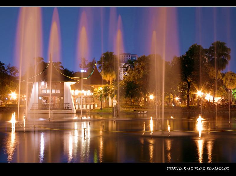 台中公園-噴泉