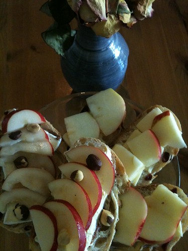 Autumn Fruit Sandwiches by Ayala Moriel