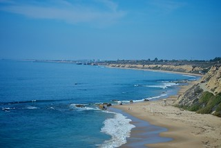 View from Crystal Cove State Park