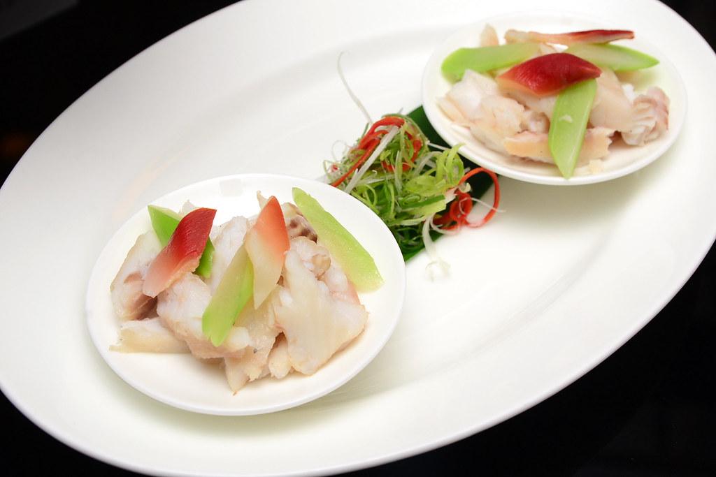 台北君悅正宗寧波料理 - 北極拌鰻魚