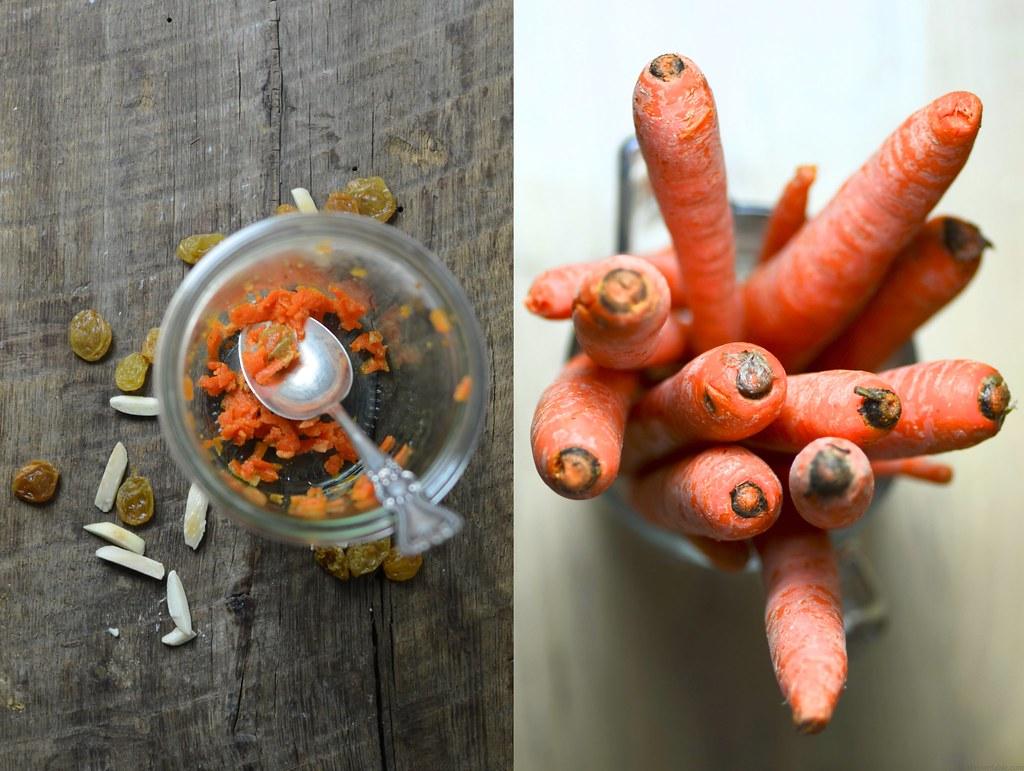 Carrots and halva