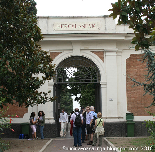 Eingang Herkulaneum Paer