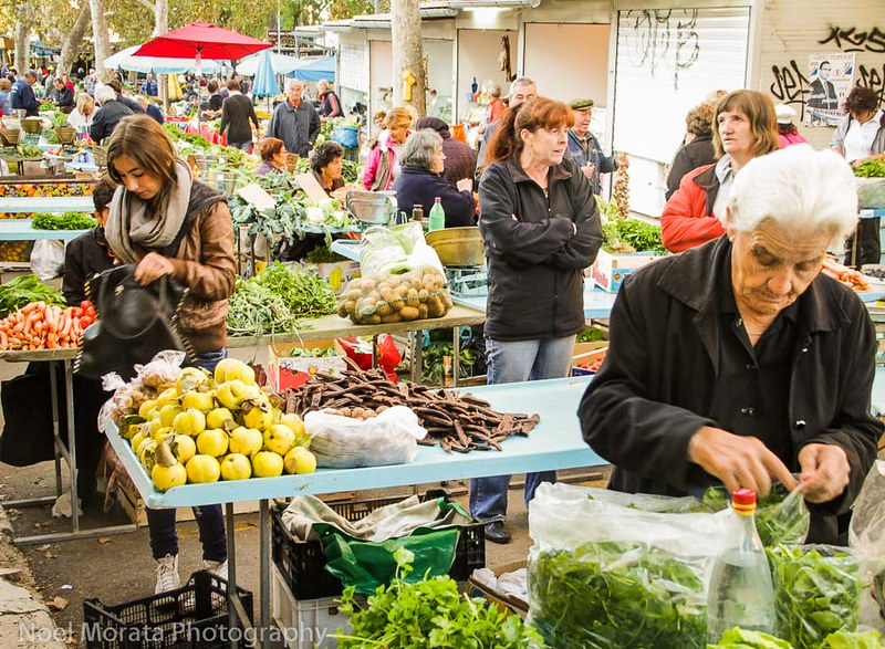 Split, Croatia - farmers market