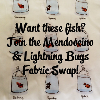 Heather Ross Mendocino and Lighting Bugs Fabric Swap