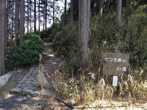 城山 くつろぎの小径 西側登山口