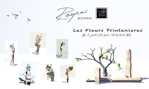 ROQUAI les fleurs printanieres - Pose Fair 2014 (EXCLUSIVE)