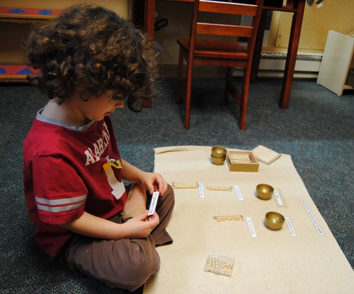 Montessori Birthday Game (Photo from Vibrant Wanderings)