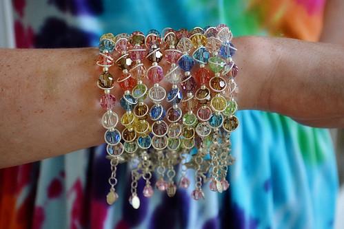 stars bracelets