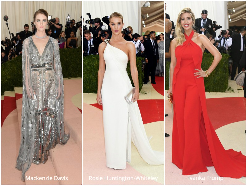 My Favourite Looks from the 2016 Costume Institute Gala